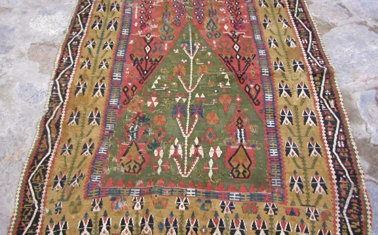 Antique kilim ERZURUM seccade